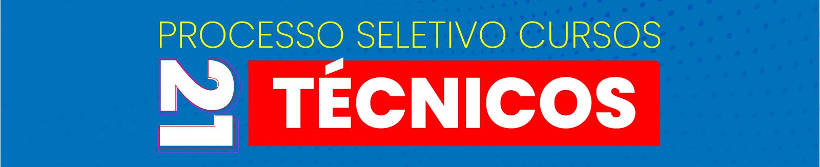 Processo Seletico cursos técnicos 2021/1 cref
